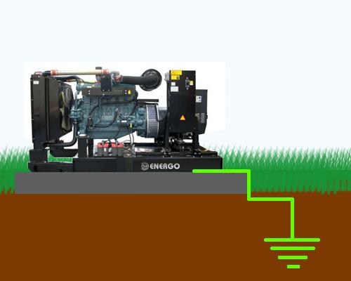 Заземление дизель генератора, нейтрали генератора Как сделать заземление как на электростанции